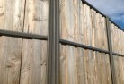 Abergowrie Lap and cap timber fencing 2