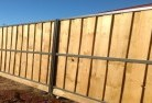 Abergowrie Lap and cap timber fencing 4