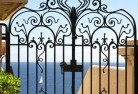 Abergowrie Wrought iron fencing 13