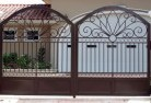 Abergowrie Wrought iron fencing 2